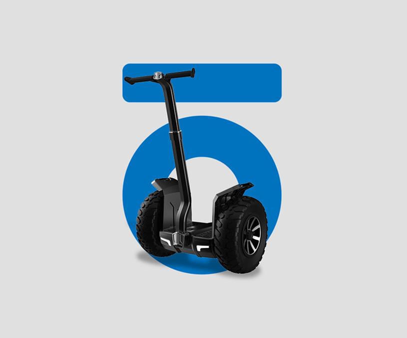 骑客平衡车品牌策划设计