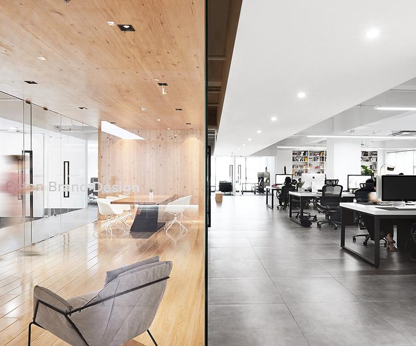 亚博app办公环境空间设计