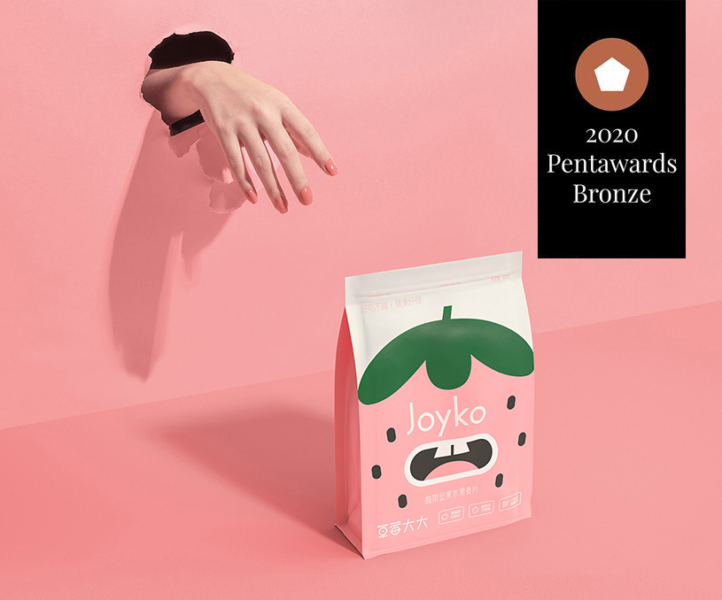 香飄飄旗下Joyko品牌零食包裝設計
