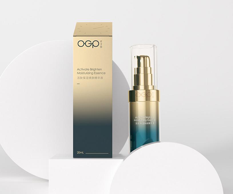 OGP时光肌美妆品牌设计