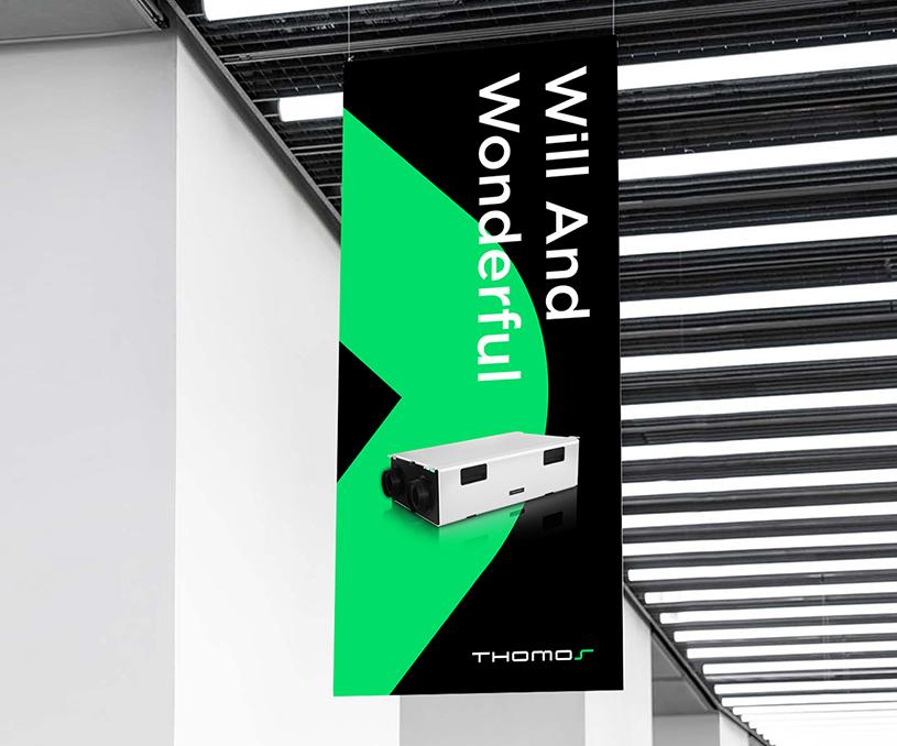 THOMOS新风系统家居品牌设计