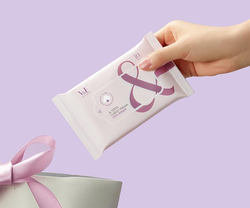 V&E洗脸巾品牌包装全案策划设计